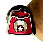 "El Katif Tie Tack Lapel Pin Shriners Freemasons 3/8"" Collectable Hat Knife (B60)"