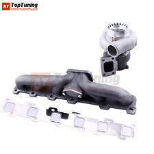 Turbocharger Kit T3 Turbo Manifold For Nissan Safari Patrol 4.2L TD42 GQ Y60 Y61