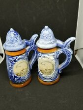 vintage Bryce canyon national park salt pepper shakers stein made japan