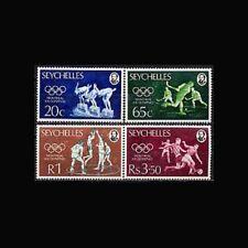 Seychelles, Sc #353-56, MNH, 1976, Olympics, Montreal, Cpl set, 3ADI