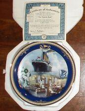 Titanic Queen of the Ocean The Turkish Bath Plate w/Box & Coa 9th Issue