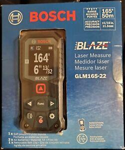 Bosch GLM165-22 165' BLAZE Ergonomic Cordless Red Digital Laser Measure