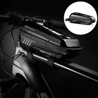 MTB Bicycle Bike Front Top Tube Frame Bag Cycling Phone Holder Pouch Waterproof