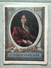 Programme COMEDIE FRANCAISE Le monde où l'on s'ennuie LA NUIT D'OCTOBRE 1932
