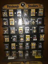 Steelers Lighter Lot Of 86 with display cases all deferent see all photos