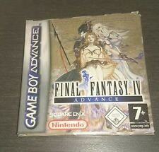 Final Fantasy IV Advance GBA gameboy advance * comme neuf complet
