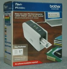 New Brother P Touch Label Portable Thermal Printer Pt 2430pc