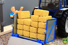 BRUSHWOOD TOYS SMALL SQUARE BALES (X16) 1:32 SCALE FARM DIORAMA **NEW** BT3053