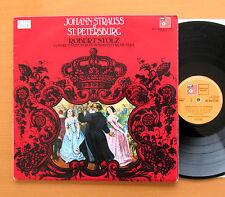 Johann Strauss In St. Petersburg Robert Stolz 2xLP Gatefold BASF BAC 3045/6