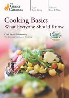 The Great Courses - Cooking Basics: What Everyone Should Know (DVD, 2019)