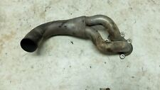 09 2009 1125CR 1125 CR Buell front muffler pipe exhaust headers
