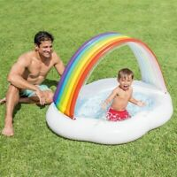 Inflatable Baby Swimming Pool Portable Outdoor Children Basin Bathtub Kids
