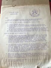 Vintage Guardian Service Cookware Distributor Instruction Letter