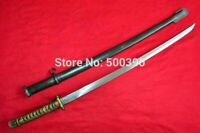Vintage Sword Japanese Samurai Katana Brass Handle With Sheath Hand Made