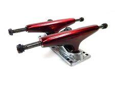 LiteZpeed 5.25 Skateboard Trucks Red/Polished