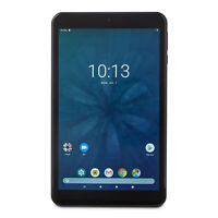 """Onn 100005207 8"""", 16GB Storage Android Tablet, Navy Blue"""