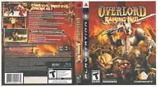 Overlord Raising Hell PS3! EVIL KILL, MINIONS, SMASH, DESTROY, STEAL, DEMONS