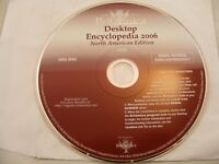 ENCYCLOPEDIA BRITANNICA desktop 2006 data disc WINDOWS XP/Me/98 compatible NEW