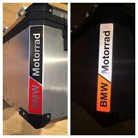 RIFRANGENTI REFLECTIVE BMW MOTORRAD ROSSO/NERO RED/BLACK -The1200stickerS
