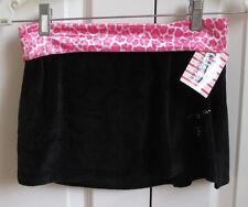 Tia's Dancewear Black Pink Figure Ice Skating Skirt Adult X-Small 0-2