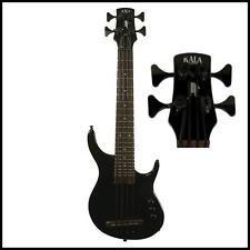 Kala Solid Body U-Bass SUB  4-String Electric Bass Ukulele Black  with Gig Bag
