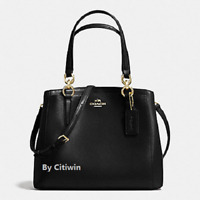 New COACH F57847 Crossgrain Leather Minetta Handbag Crossbody Shoulder Bag Purse