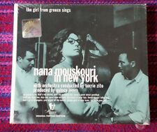 Nana Mouskouri ~ The Girl From Greece Sings ... ( Europe Press ) Cd