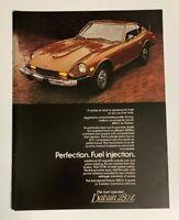 1976 Datsun 240Z 240-Z Print Ad Vintage Advertisement Car Nissan Perfection