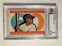 1960 Topps #560 Ernie Banks AS BVG 7 NM Chicago Cubs PSA Fresh Graded