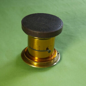 Rare Large Format Brass Lens for Mahogany Camera No.1