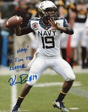 Kennan Reynolds Signed Autograph 8x10 Photograph Navy Rare Inscriptions NCAA