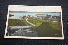 Vintage Postcard Halifax Harbour From Citadel, Showing George's Island, N.S.