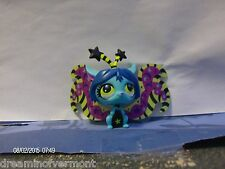 Littlest Pet Shop Bright Blue Moonlight Fairy- Crescent Moon #2827