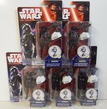 Star Wars The Force Awakens Army builder set of 5 First Order Tie Fighter Pilots