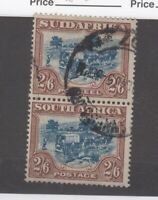 South Africa 1944 2s 6d Brown Blue SG49b VFU JK2600