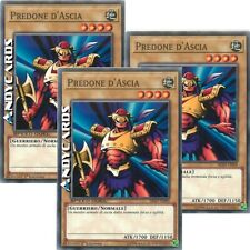 3x PREDONE D'ASCIA (Speed Duel) • Comune • SBAD IT009 • Yugioh! • ANDYCARDS