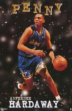 LOT OF 2 POSTERS: NBA BASKETBALL: PENNY HARDAWAY - ORLANDO MAGIC  #B101 RC32 B