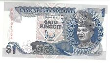 1 Pc $1 Ringgit Jaafar Hussein 5th Series BA Replacement UNC Banknote