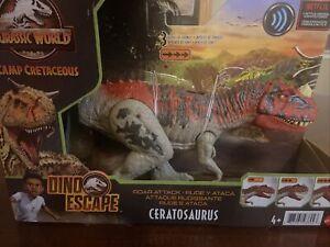 Jurassic World Toys Ceratosaurus Camp Cretaceous Dino Escape Roar Attack 2021