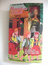 "Vintage MIB Tomland From the Tale Hansel & Gretel GRETEL 11 1/2"" Doll Fairy Tale"