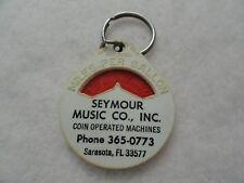 Vintage Seymour Music Co, Sarasota Florida  Keychain
