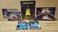 Four New Postcards ~ Sights of Springfield, Illinois
