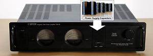 Upgrade Power Supply Capacitors to Repair / Refurbish CARVER TFM-24 25 35 35X 55