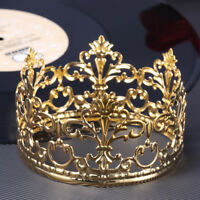 Delicate Decorative Tiara Crown Cake Decoration Crown for Wedding Birthday Party