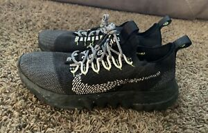 NEW Men's Nike Space Hippie 01 Black Volt 2021 Size 10 Shoes
