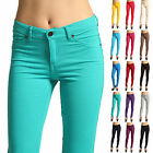 GFashion Women's Casual Skinny Leg Jeggings Pencil Pants Stretchy Jeans Trousers