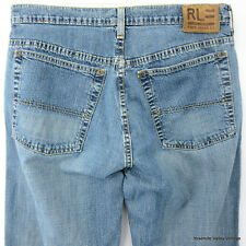 Ralph Lauren RL Mens Polo Jeans Co Blue Denim 31x32 Montauk JEAN