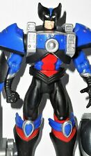 X-MEN X-force BEAST 1996 WOLVERINE Anti magnetism mutant armor complete toybiz