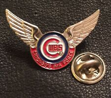 MLB Chicago Cubs Collector Pin~Chicago's Air Force~Wings~Major League Baseball