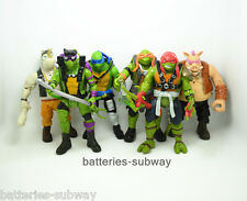 "Lot 6 pcs Teenage Mutant Ninja Turtles Out of the Shadow action figures 6"" Toy"